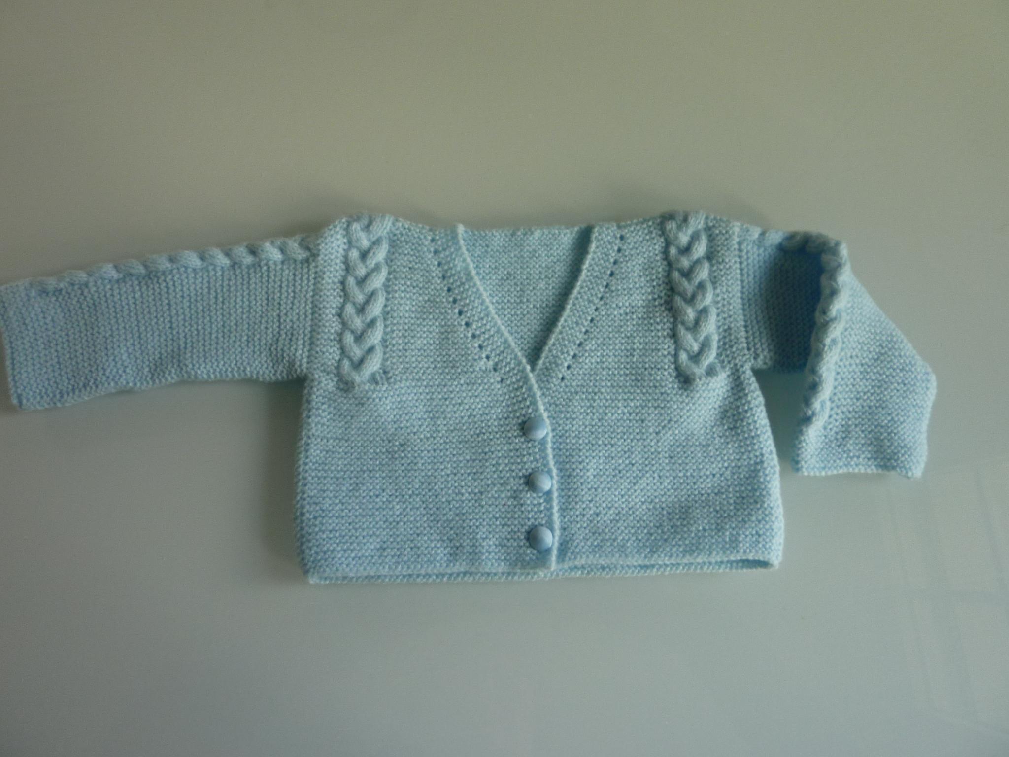 0a46c257b Chaquetas para Bebés hechas a mano por Veva Bebé
